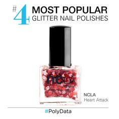 """PolyData: Top 10 Glitter Nail Polishes"" by polyvore ❤ liked on Polyvore featuring ncLA"