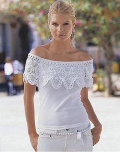 Crochê   Customizando - Blog de customização de roupas e decoração