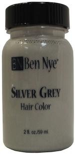 Silver Grey Hair Colour! I don't understand how this can be used as hair color...it looks like silly patty!