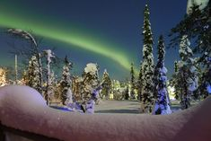 The Arctic may be crumbling due to climate change, but thanks to an ongoing frenzy of aurora borealis activity, the region still has plenty of holiday magic.