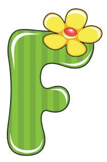 F is for Flower, Baby Alphabet Alphabet For Kids, Alphabet Art, Calligraphy Alphabet, Alphabet And Numbers, Monogram Alphabet, Alphabet Templates, Diy And Crafts, Paper Crafts, Scrapbooking