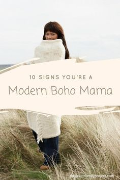 modern boho mom