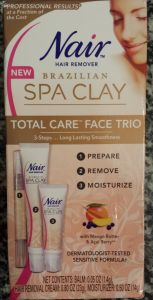 Nair Brazilian Spa Clay Total Care Face Trio Review