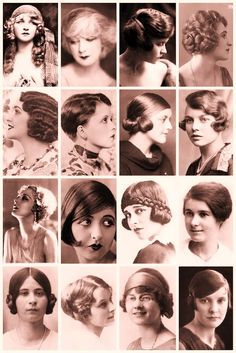 twenties hairstyles