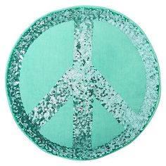 Sparkle Peace Pillows #pbteen