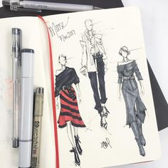 Fashion design sketches inspiration haute couture 68 Ideas for 2019 Illustration Mode, Fashion Illustration Sketches, Fashion Sketchbook, Fashion Sketches, Drawing Sketches, Moda Fashion, Vogue Fashion, Fashion Art, Trendy Fashion