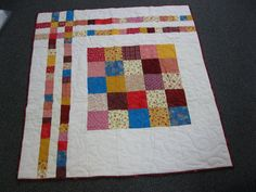 Grayce Kloess of Arbor Vitae, WI made and donated this quilt to Hopes & Dreams. www.hopesanddreams.quiltersdreambatting.com