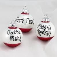 fishing ornaments. *perfect*