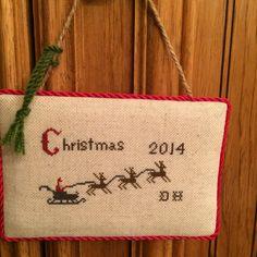 Christmas 2014 Christmas Cross Stitch