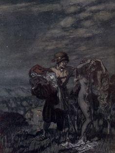 Arthur Rackham –  Young Andrew (Some British Ballads)