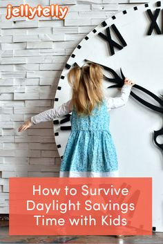 Daylight Savings is a hard adjustment for kids. Help your children get good sleep with these fun and simple spring forward activities.