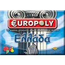 Επιτραπέζιο EUROPOLY ΕΛΛΑΔΑ Board Games, Candy, Tabletop Games, Sweets, Candy Bars, Table Games, Chocolates