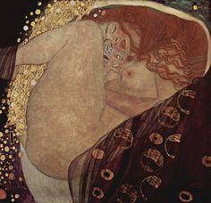 "malinconie: "" Gustav Klimt, Danae, 1907-1908 """