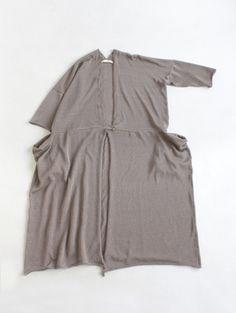 evam eva/商品詳細 high gauge linen robe