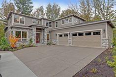 Rustic Exterior of Home with Cliffstone Stone Veneer, exterior stone floors