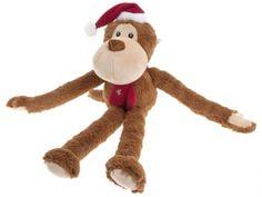 #Karlie Affe #Weihnachtsspielzeug für #Hunde braun