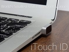 iTouch ID is a Kickstarter project that I think is SO cool and very useful. It works on any computer instead of a password. Check it out!