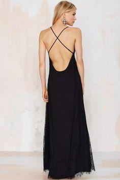 Nasty Gal Sleepless Night Lace Maxi - Midi + Maxi | Dresses | Lace Dresses
