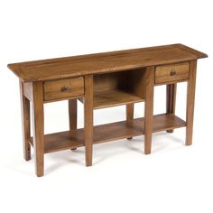 Broyhill Attic Heirlooms Finish Console Table