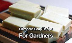 Citronella Soap Recipe For Gardners