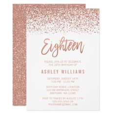 440 Best 18th Birthday Party Invitations Images In 2018 18th