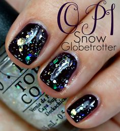 OPI Snow Globetrotter from the Gwen Stefani Nail Polish Collection for Holiday 2014