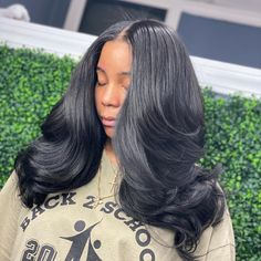 """🇭🇹 on Instagram: """"Wanna learn how to get the most natural, flawless finishes to your wigs and sew ins?  Sign up for my new curling course! Its only $99, but…"""" Glamorous Hair, Great Hairstyles, Sophia Loren, Love Hair, Black Hair, Curls, Wigs, It Is Finished, Beautiful Women"""