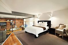 Bedroom design – Two Story Warehouse Conversion