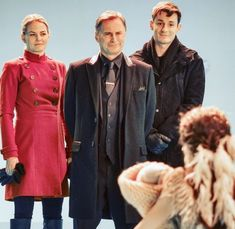 Jennifer, Robert and Giles bts