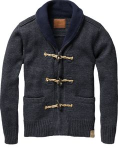 Scotch & Soda Toggle Cardigan
