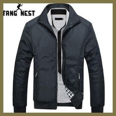 Cheap men jacket, Buy Quality casual jacket directly from China jacket coat Suppliers: TANGNEST Men's Jackets 2017 Men's New Casual Jacket High Quality Spring Regular Slim Jacket Coat For Male Wholesale Cheap Mens Jackets, Men's Jackets, Bomber Jackets, Mens Casual Jackets, Mens Spring Jackets, Motorcycle Jackets, Jackets Online, Winter Jackets, Bomber Jacket Men