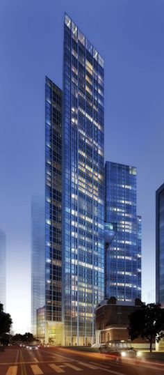 A residential skyscraper in Nine Elms, south-west London, has been approved Futuristic Architecture, Contemporary Architecture, Amazing Architecture, Architecture Design, Tower Building, High Rise Building, Building Structure, Building Plans, Interesting Buildings