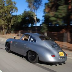 """On the move... #EmoryOutlaw #Porsche #Porsche356"""