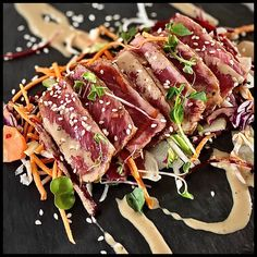 Beef Tataki, Bbq Steak, Kamado Joe, Daily Meals, Food Truck, Asian Recipes, Main Dishes, Tatami, Food And Drink