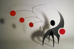 Modern Tabletop Mobile Art Sculpture Stabile Lil by frithmobiles, $150.00