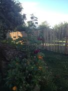 La Bastide de Fanny - Côté Collines   Propriété du 18ème siècle en location saisonnière dans le Pays d'Aix en Provence  La cloture du jardin potager