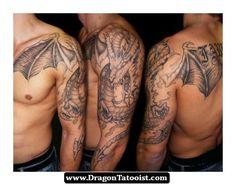 Great Dragon Tattoos Designs 09 - http://dragontattooist.com/great-dragon-tattoos-designs-09/