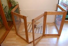 This website is full of great ideas, bunny and rodent cages!