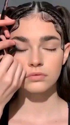 Nose Makeup, Cute Eye Makeup, Makeup Eye Looks, Eyeliner Looks, No Eyeliner Makeup, Simple Makeup, Skin Makeup, Makeup Art, Natural Makeup