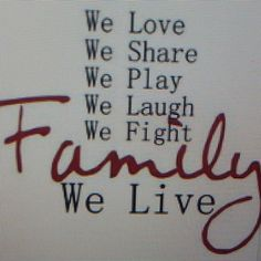 LIFE Most Important in LIFE is FAMILY. RECPECT, Enjoy&LoVe Family. RECOMMENDED. You? See U. SMILE #life #important #family #enjoy #love #style #blog #lifestyle ❤🔝💒🔑💡👀👍☺💓🙋⏰👀