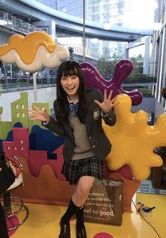 福原遥スタッフ(公式) @haruka_staff  11月17日 初めて! 『PON!』出演させて頂きました(^^) ありがとうございますー☺️✨  せーの!  PON!!!!  【公式】はるか(ハイジ)の撮影日記
