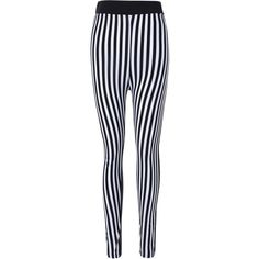 Striped Print Skinny Pants ($4.55) ❤ liked on Polyvore featuring pants, gamiss, black and white pants, black and white skinny pants, black and white stripe pants, striped skinny pants and skinny pants