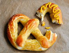 Homemade Soft Pretzels #superbowl