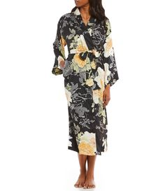 4d6df86ff256 Shop for N by Natori Dynasty Floral Satin Robe at Dillards.com. Visit  Dillards