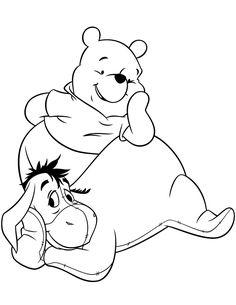 Resultado de imagem para pinterest moldes do urso pooh para apiquer
