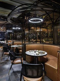 industrial design chair restaurant interiors - The decor of the restaurant space shown above looks very beautiful and elegant. #industrialdesignchairrestaurantinteriors #industrial_design_chair_restaurant_interiors #industrial_design_chair #industrialdesignchair #industrialdesign