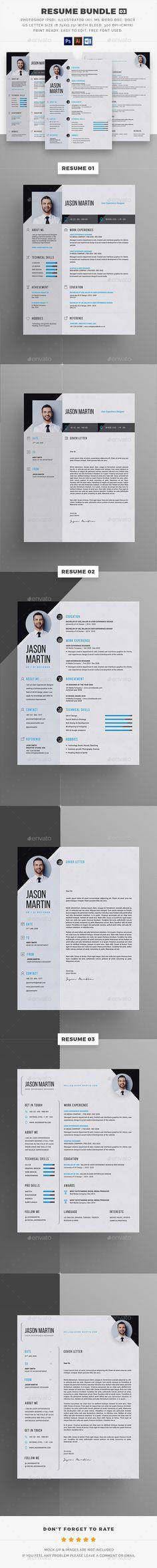 Modern-CV - Personal Resume Template Pinterest Resume cv, Psd