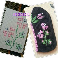 Images About Tunusişipatikörüyorum Tag - Diy Crafts - Qoster Tunisian Crochet Patterns, Crochet Squares, Crochet Shoes, Knit Crochet, Bead Crafts, Diy Crafts, Loom Bracelet Patterns, Cross Stitch Rose, Knitted Slippers
