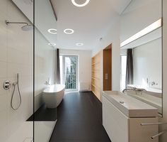 Elegant Interior of a Duplex Apartment elegant interior duplex apartment bathroom