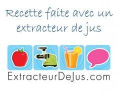 Recettes extracteur de jus - Jus de fruit avec un extracteur de jus